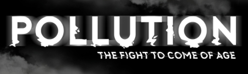 Pollution title banner