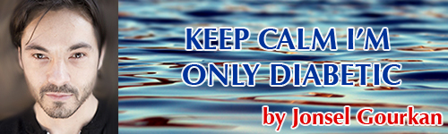 Keep Calm I'm Only Diabetic title banner